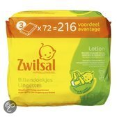 Zwitsal Billendoekjes Lotion 3x72 St