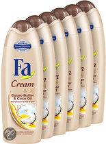 Shower cream Cream&Oil Cacaobutter & Coco Oil - 6 stuks