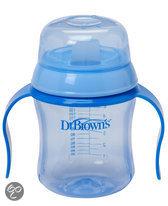 Dr. Brown's - Trainingsbeker zachte tuit 170 ml - Blauw