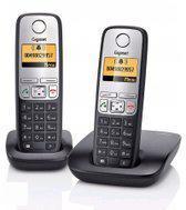 Gigaset A400 - Duo DECT telefoon - Zwart