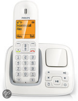Philips CD2951W - Single DECT telefoon met antwoordapparaat - Wit