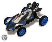 Racetin Micro Stunt - RC Auto - 1:32 - Blauw
