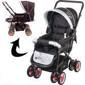 Johnson Kinderwagen Snopy Grey