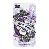 Glamrox iPhone 4/4Gs case - Tiger Polycarbonate, with screen protector