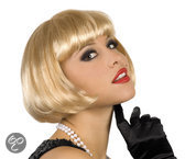 Pruik Cabaret Blond