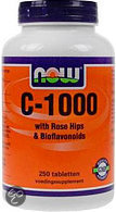 Now Vit C Biof & Rose - 1000 mg