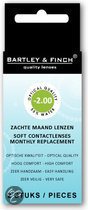 Bartley & Finch - 2 st - Maandlenzen -2.00