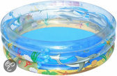 Bestway 3 Rings Opblaasbaar Zwembad - Sea Life - 170x53 cm