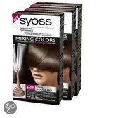 Syoss Mixing Colors 4-58 Cool Mocca Mix