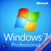 Microsoft Windows 7 Professional | Download/Licentie | 32&64-bits| OEM |  Nederlands