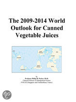 The 2009-2014 World Outlook for Canned Vegetable Juices