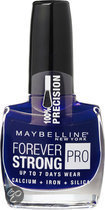 Maybelline Forever Strong Pro - 650 Midnight Blue - Blauw - Nagellak