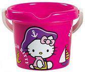 Hello kitty Emmer 13 cm donker roze