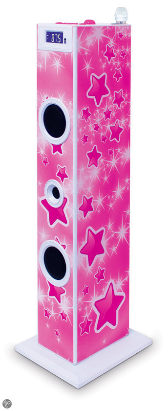 Sing-along Star Karaoke Tower - Rood