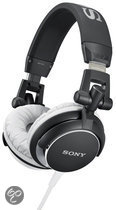 Sony MDR-V55 - On-Ear Koptelefoon - Zwart/Wit