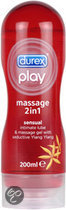 Durex Play Massage 2 in 1 Sensual Massagegel met Ylang Ylang - 200 ml - Glijmiddel