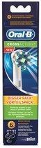 Oral-B Cross Action - 6 stuks - Opzetborstels