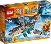 LEGO Chima Vardy's Ijszweefvlieger - 70141