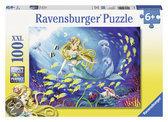 Kleine zeemeermin - Kinderpuzzel - 100 Stukjes