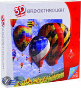 Mega puzzles 3d puzzel breaktrough - luchtballonnen level 2