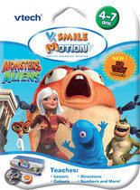 VTech V.Smile Motion - Game - Monsters vs. Aliens
