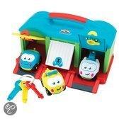 Imaginarium Garage Beep-Beep - Speelgoedgarage met 1 auto en sleutels