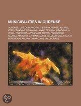 Municipalities in Ourense
