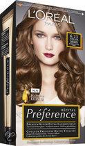 L'Oréal Paris Préférence Récital - 6.23 Lichtbruin Parelmoer - Haarkleuring