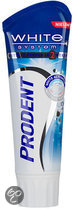 Prodent White System - 75 ml - Tandpasta