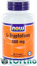 Now L-Tryptofaan 500 mg Softgels 60 st
