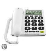 Doro PhoneEasy 313CI telefoon - Wit