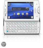 Sony Ericsson Xperia mini Pro (sk17i) - White (inclusief wit-roze cover)