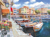 Schmidt Puzzel: Sam Park - Cafe in Cassis