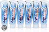 Aquafresh Ultimate Whitening  - 6x 75 ml - Tandpasta
