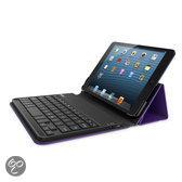 Belkin hoes met AZERTY toetsenbord voor iPad Mini - Paars/Zwart