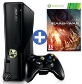 Microsoft Xbox 360 Slim 250GB + 1 Controller + Gears of War Judgment