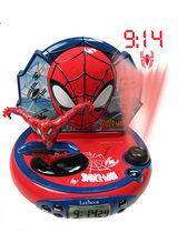 Spider-Man Wekker Projector met Radio