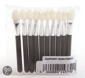 Oogschaduw applicator - Set 10 stuks - Make-up Kwasten