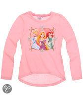 Disney Princess Meisjesshirt - Lichtroze - Maat 92