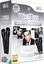 We Sing: Robbie Williams + 2 Microfoons