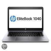 hp EliteBook 1040 G1 14 FHD AG i7-4600U8GB 256GB SED SSD Webcam WLAN Intel AC 2x2 +BT WWAN 4G-LTE Bcklt Kbrd NFC Mobile Connect vPro W7p64W8.1p 3y wty