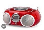 AudioSonic CD-570 - Radio/cd-speler - Rood