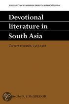Devotional Literature in South Asia
