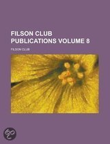 Filson Club Publications Volume 8