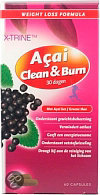 X-trine Acai Clean Burn - 60 Capsules