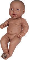 Bayer Pop Newborn Baby Donker - Meisje - 42 cm