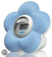Philips Avent SCH550/20 - Baby Bad en Kamer Thermometer - Blauw