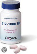 Orthica Vitamine B12 1000µ - 90 Tabletten - Vitaminen