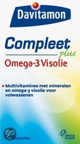 Davitamon Compleet + Omega 3 Visolie - 60 st - Multivitaminen