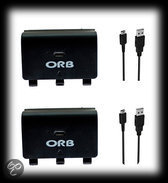 Orb Dubbel Oplaadstation + Play Battery Pack Xbox One